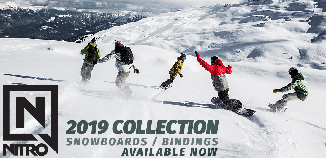 2019 Nitro Snowboards at Southport Bikes & Boards