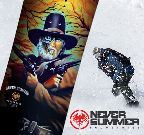 NEVER SUMMER 2019 Winter Snowboards have arrived!
