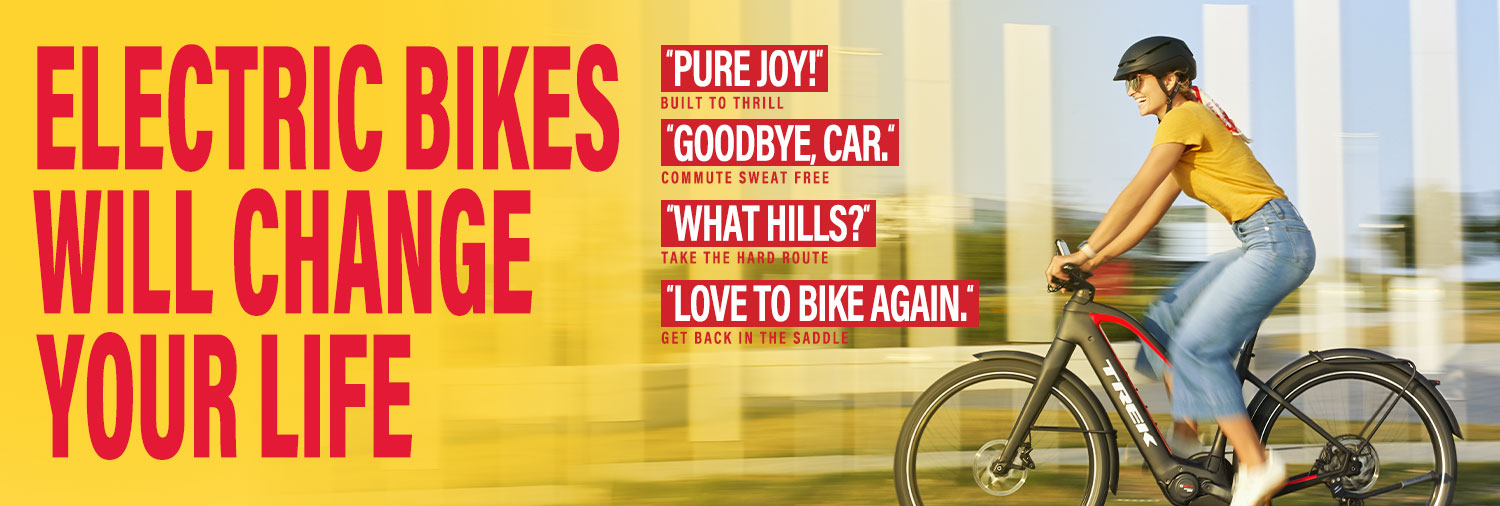 Electric Bikes will change your Life! Southport Bikes and Boards