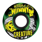 "OJ | Creature ""Mummy"" KeyFrames Wheel Set - (58mm, 87a)"