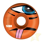TOY MACHINE | Sect Face Orange/White Wheels - (51mm 99a)