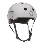 PROTEC | Classic Skate Certified - Silver Flake Helmet (Sm)