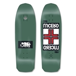 "BLACK LABEL | 10"" x 32.88"" John Lucero ""Cross 2"" (Army Green Dip) Deck"