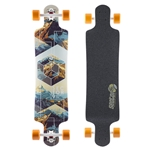 "SECTOR 9 | Fault Line Complete Longboard - (9.5"" x 39.5"" x 31"")"