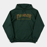 THRASHER | Davis Hood - Forest Green