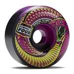 SPITFIRE Formula 4 Radials Slims Lucid Death Skateboard Wheels - 54mm 99a