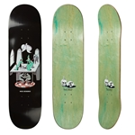 "POLAR SKATE Co. | Aaron Herrington ""Just Like Drugs"" Football-Shaped Skateboard Deck - 8.75"" X 32"""