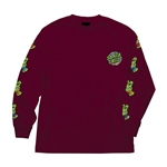 TMNT Sewer Dot L/S Santa Cruz Mens T-Shirt
