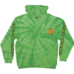 TMNT Turtle Power P/O Hooded Santa Cruz Mens Sweatshirt