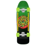 TMNT Turtle Power 9.35in x 31.7in 80s Cruzer Santa Cruz Cruiser Skateboard
