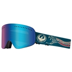 NFX 8 Dragon Snow Goggles | Rattler Lumalens Blue Ion - L. Amber