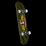 "7.5"" X 28.65"" POWELL PERALTA Winged Ripper Complete Skateboard - Olive"