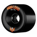MINI LOGO | A.W.O.L. A-Cut Wheels - 66mm 78A Black