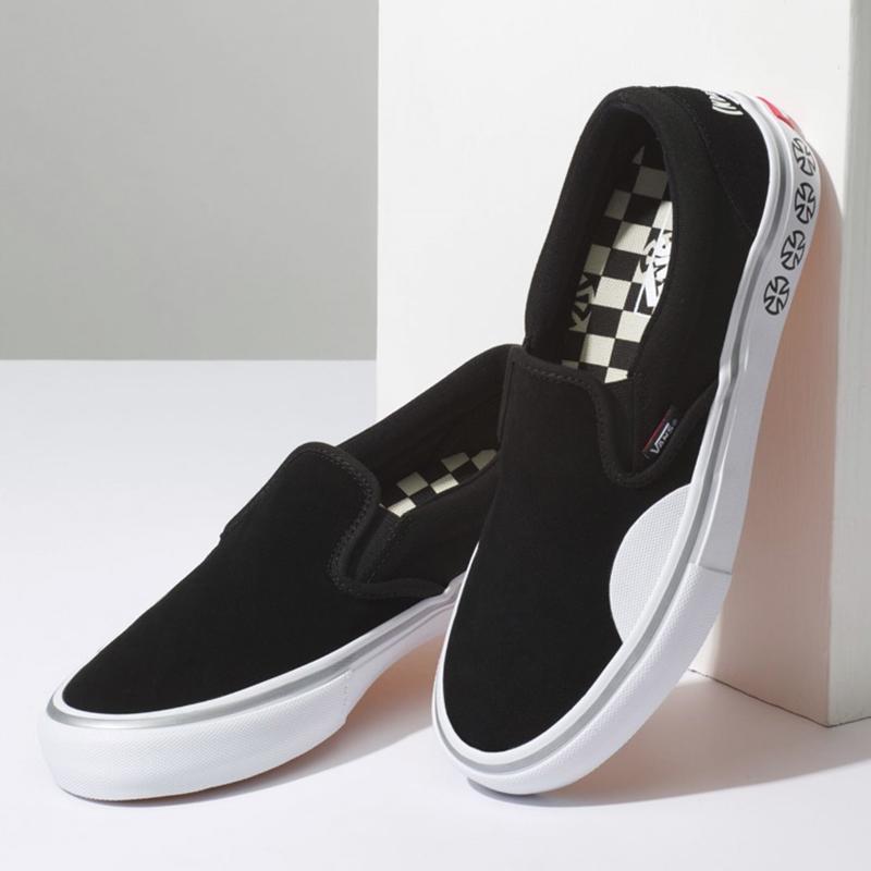 e4dedb7b63 Vans X Independent Slip-On Pro Skate Shoe