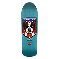 "POWELL PERALTA | Frankie Hill ""Bulldog"" Reissue Deck Blue - 10"" x 31.5"""