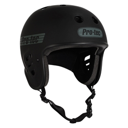 PROTEC | Full Cut Certified - Matte Black Helmet (L)