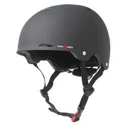 TRIPLE 8 | Gotham Dual Certified Helmet - Black Rubber (L/XL)