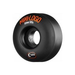MINI LOGO | Hybrid A-Cut Skate Wheels - (52MM 101A / Black)