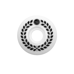 HABITAT | Wreath Skateboard Wheels - (52mm 99a / White/Black)