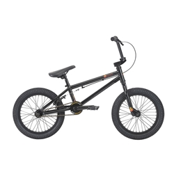 HARO Bikes | 2018 Leucadia 16 BMX Bike - Gloss Black