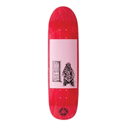 WELCOME Skateboards | Go Darker on Pysanka (8.5 x 32.0, Pink/Stained)