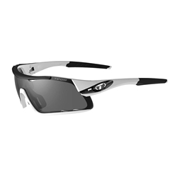 TIFOSI | Davos | White/Black Smoke / AC Red / Clear Sunglasses