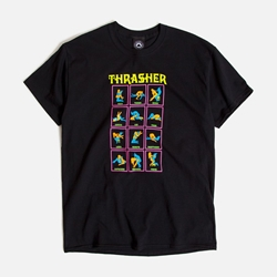 THRASHER | Black Light T-Shirt