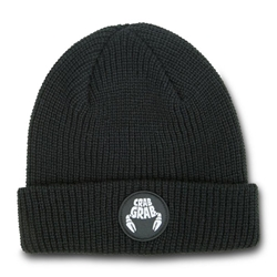 Circle Patch Beanie | CRAB GRAB