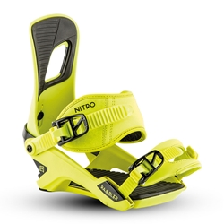 2019 Rambler Muted Brights Series Toxic Snow Bindings | NITRO SNOWBOARDS
