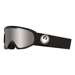 DX2 Dragon Snow Goggles | Black Lumalens Silver Ion