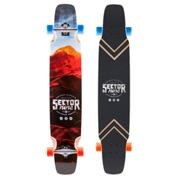 "Sector 9 Lockstep Complete Longboard (48.25"" X 9.25"")"