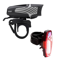 NITERIDER | Lumina Micro 550 & Sabre 80 Combo USB Bike Light