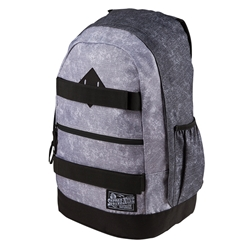SECTOR 9 | Vacay Grey / Black Acid Wash Backpack
