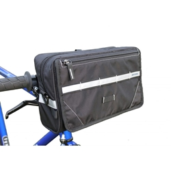 BIKASE 1072 NAV Handlebar Bag with Bracket