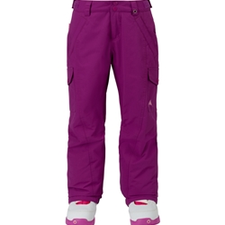 BURTON ELITE CARGO SNOW PANT GIRLS