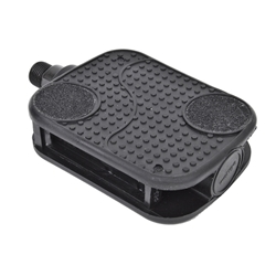 "SUNLITE Cruiser Barefoot (1/2"" or 9/16"") Black Pedals"